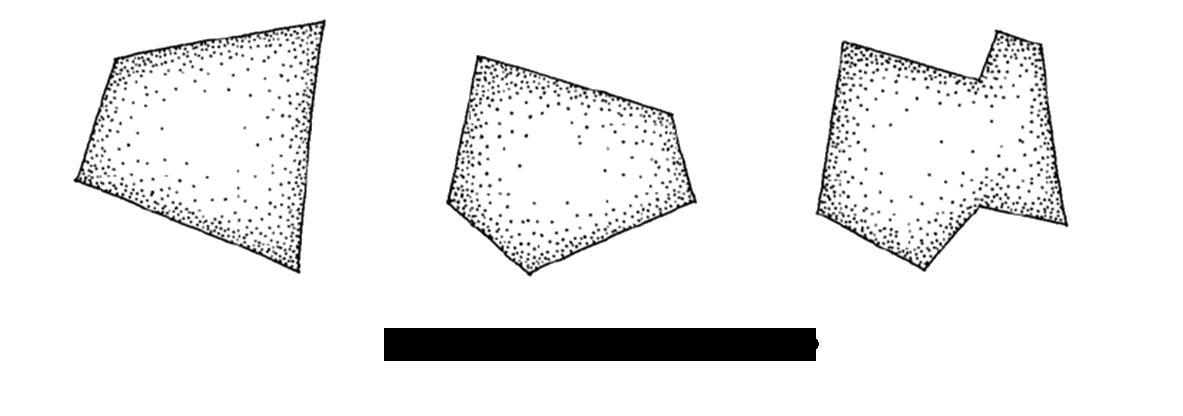 چند ضلعی های نامتقار