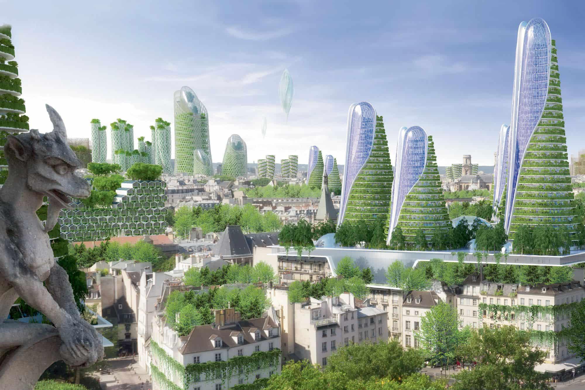future paris biophilic